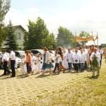 Boże Ciało 2014 r. Uczestnicy procesji (2)