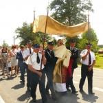 Boże Ciało 2014 r. Uczestnicy procesji (4)