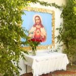 Boże Ciało 2014. Ołtarz III Olendry
