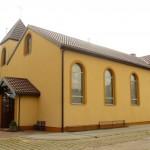 Kościół parafialny od północy z nowym dachem