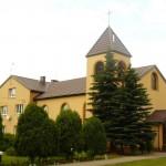 Kościół z nowym dachem
