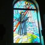 Witraż św. Faustyny