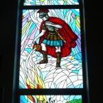 Witraż św. Floriana