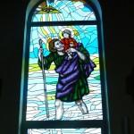 Witraż św. Krzysztofa