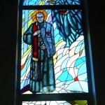 Witraż św. Maksymiliana